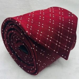 DKNY  New Red Mens Power Neck Tie